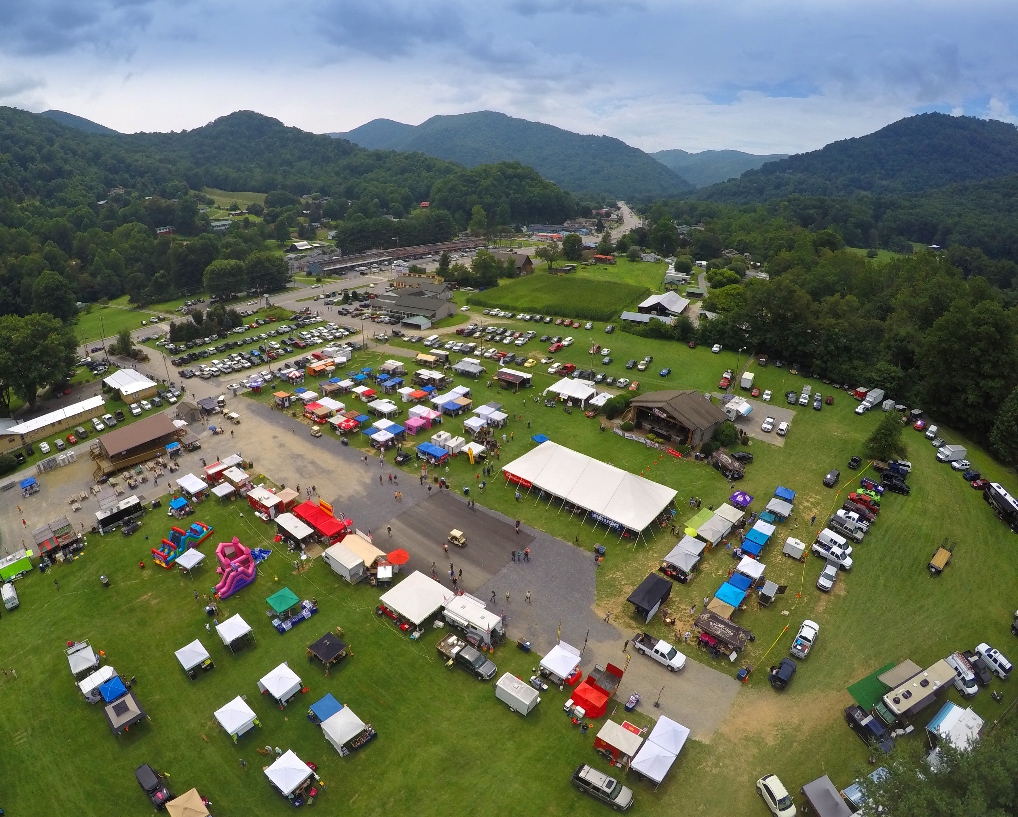 Maggie Valley Festival Grounds Aerial